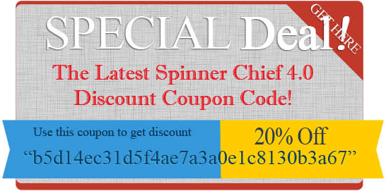 Spinner Chief 4 Discount Code