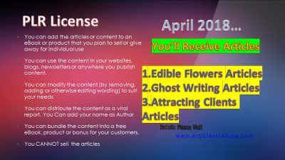 plr-articles-for-april-2018