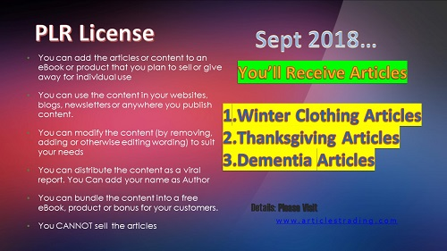 plr-articles-for-sept-2018